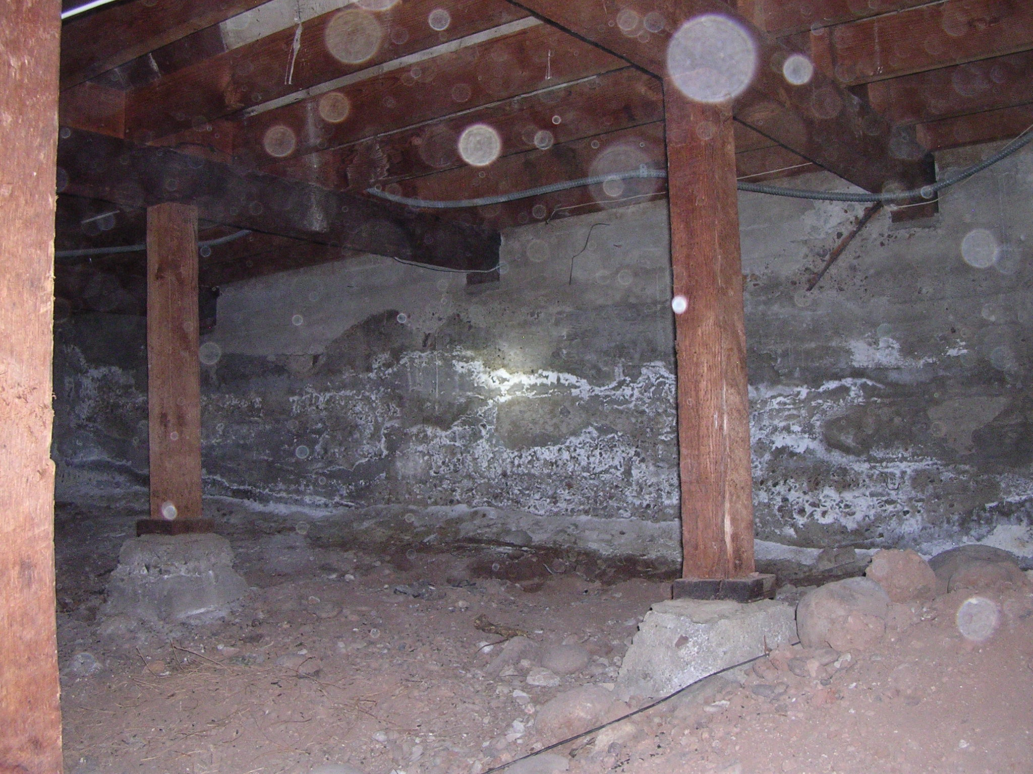 san diego home inspection crawlspace