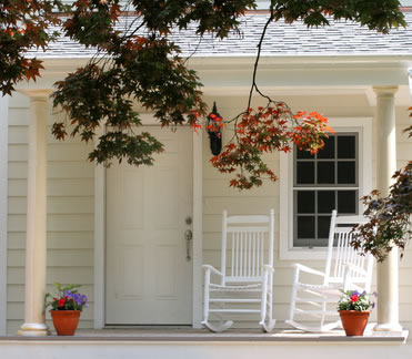 front porch home inspection